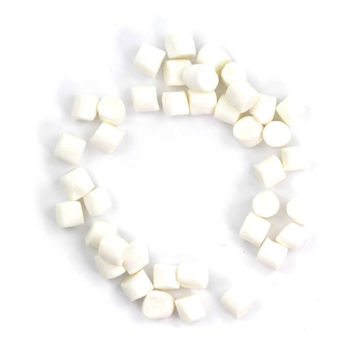mini marshmallows white 3 BSF